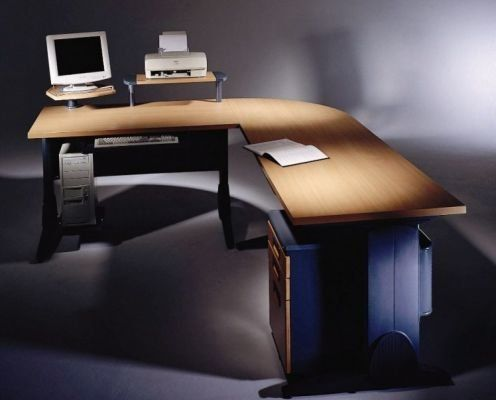 Sigma Long Desk by New Spec by New Spec. $899.99. Sigma Long Desk by New Spec A contemporary look in office furniture for the multi-tasks, the sleek Sigma Work Center has a seamless desktop work surface, including corner and return, attached are a convenient shelf and drawers; an optional handy mobile file provides storage. These desk components are durable, lightweight and budget-friendly. This desk offers the perfect space to concentrate on work of any kind. Its' sleek, mo...