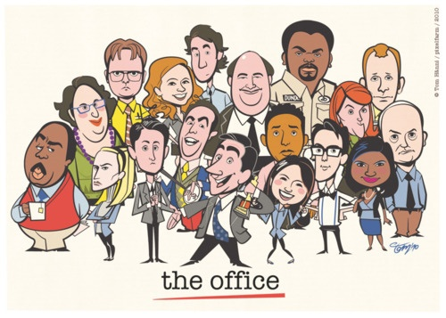 sorry for all of the office....