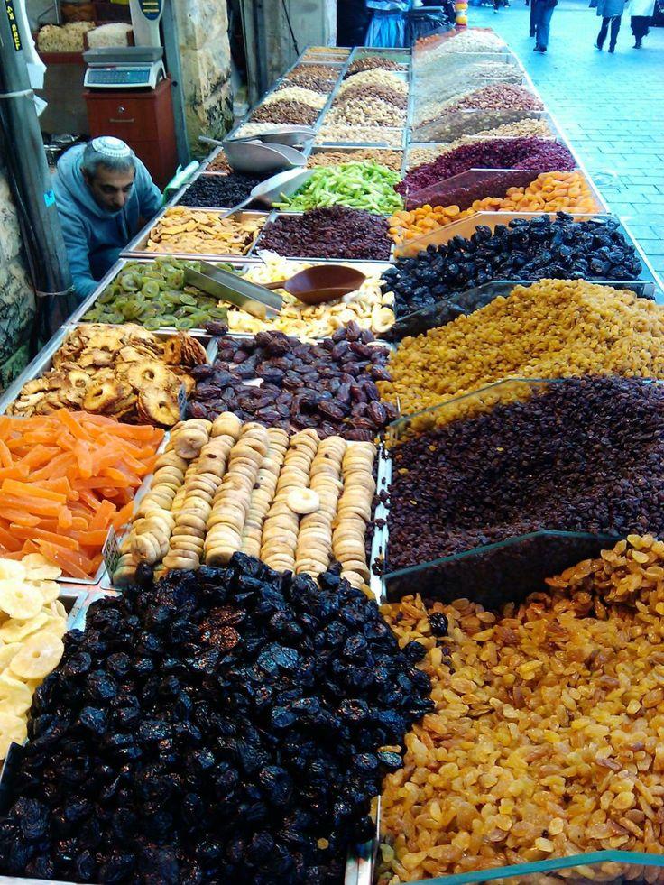 "Mahane Yehuda Market, ""The Shuk""  Jerusalem, Israel"