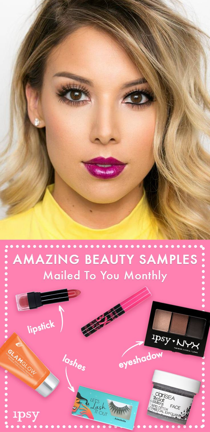 Monthly Beauty Subscription - If you're looking to try new makeup, try ipsy! You get 4-5 personalized beauty products each month. Delivered to your door. Watch Makeup Tutorials | Product Giveaways | Win Free Products | Save up to 70% off on latest products | Join over 1M+ subscribers. Subscribe now!