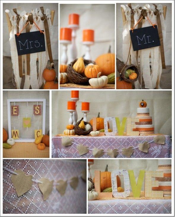 Fall Decorating Ideas Rustic Wedding: Rustic Fall Wedding Inspiration
