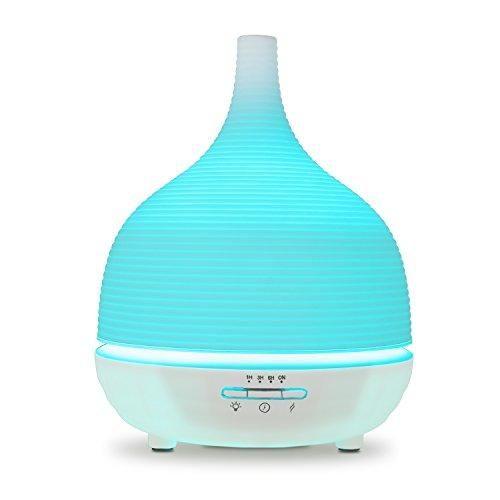 Oferta: 21.99€ Dto: -27%. Comprar Ofertas de Aiho Humidificador 500ml Ultrasónico Difusor de Aceites Esenciales Aromaterapia 7-Color LED 4 Ajustes de Tiempo Para Yoga Spa barato. ¡Mira las ofertas!