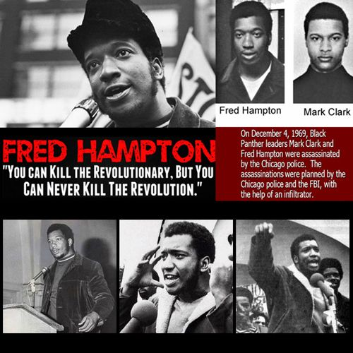 The Assassination of Fred Hampton #blackpantherparty #bobbyseale #fredhampton #blackpanthers #blackhistory
