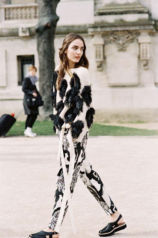 Paris Fashion Week AW 2015....Zuzanna