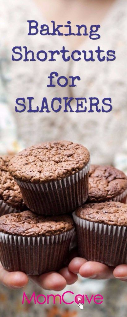 Baking Shortcuts for Slacker Moms From MomCaveTV. Fake bake like a pro. Baking is so much work! We have ways to save time on baking.