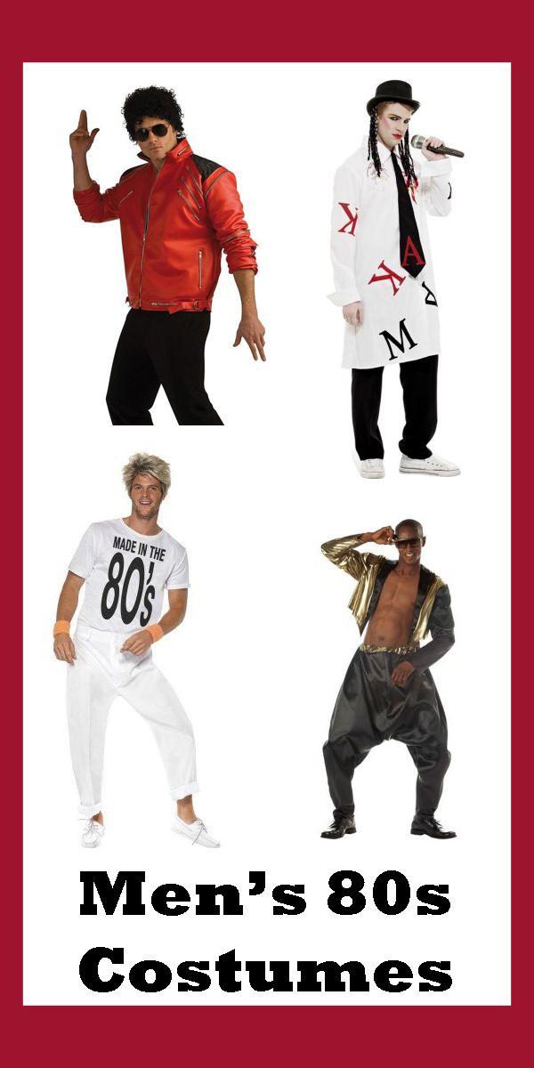 Men's 80s Costumes