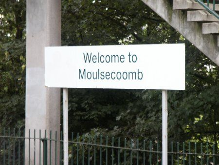 Moulsecoomb Railway Station (MCB) in Moulsecoomb, Brighton and Hove