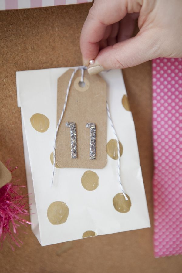 Adent calendars for events other than Christmas #SomethingTurquoiseDIY