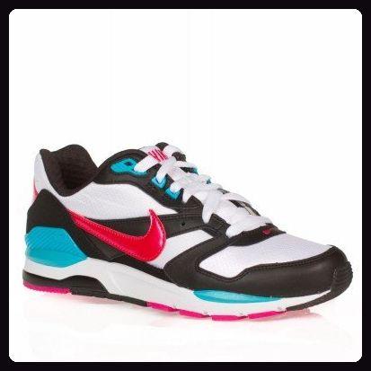 Nike - Nike Twilight Runner gs sneakers Damenschuhe weiss rosa schwarz, Bianco-Nero-Fuxia, 38.5 EU - Sneakers für frauen (*Partner-Link)