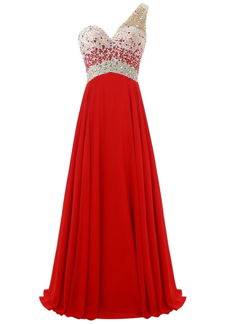 Embellished Prom Dresses, Beaded Prom Dress, Long Prom