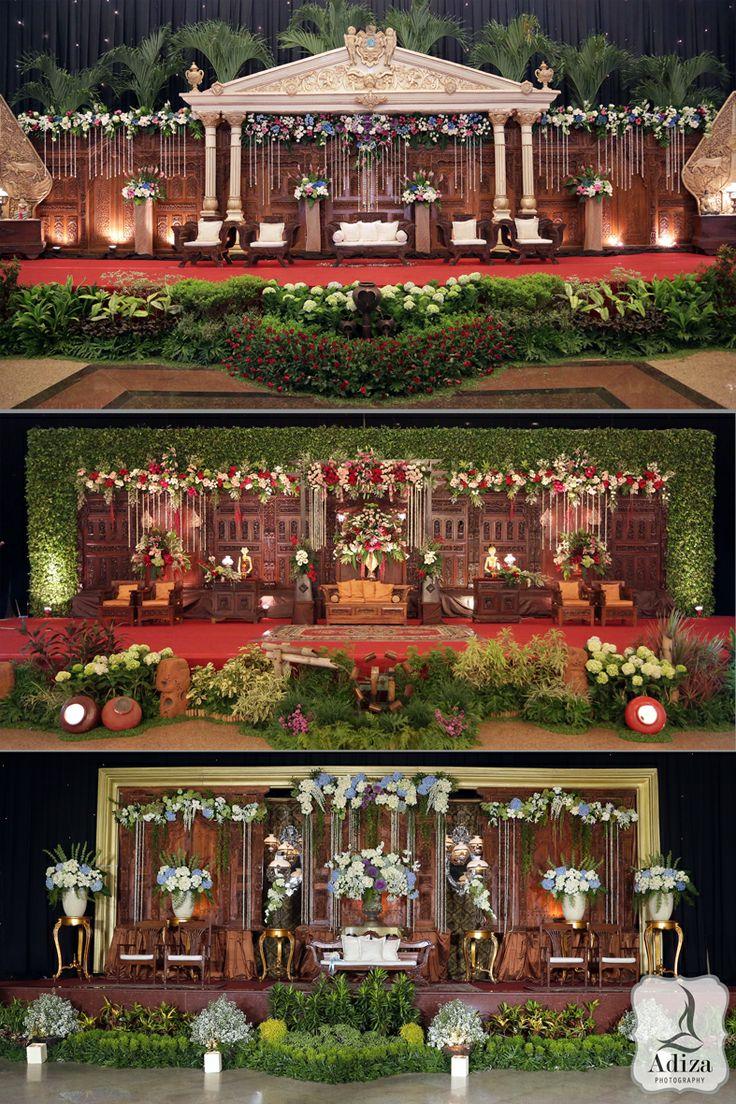 Javanese Wedding Backdrop