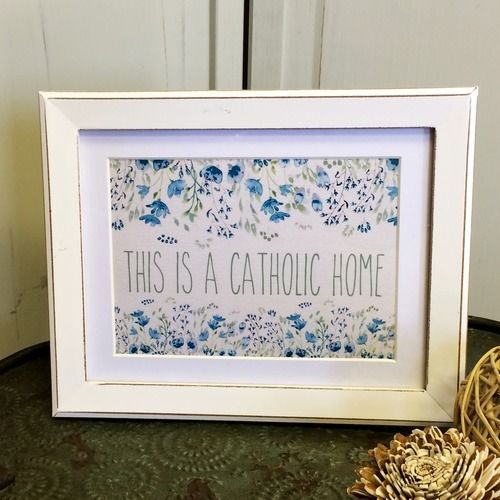 190 best images about a catholic home on pinterest for Catholic decorations home