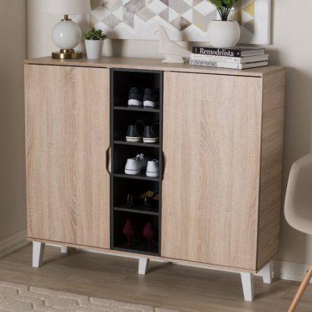 Corrigan Studio Jamar 38 Pair Shoe Storage Cabinet - Walmart.com