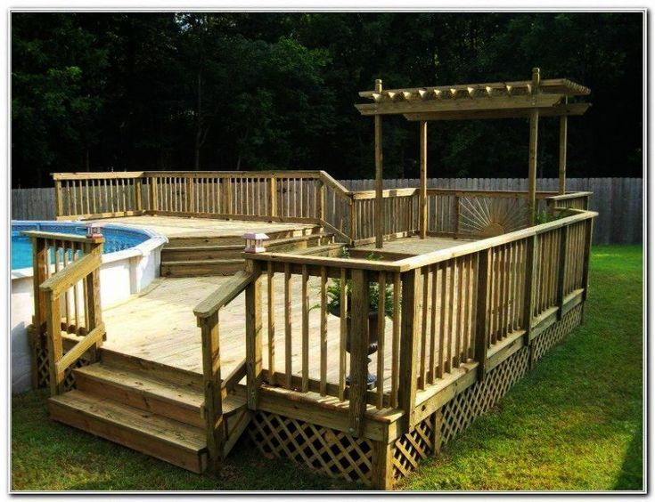 Landscaping Ideas Front Yard Youtube Landscape Ideas For Craftsman Homes Both C Bothc Crafts In 2020 Pool Deck Plans Backyard Pool Landscaping Swimming Pool Decks