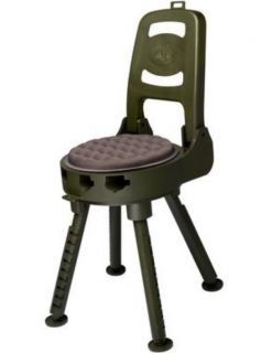 Swivel Chair Tree Stand Living Room Accent Deer Hunting Blind Seat Blackpowder Products The All Terrain