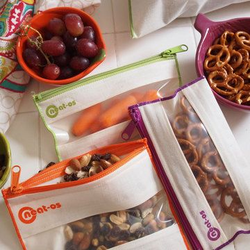 Orange Sandwich Bag 3 Pack / neat-os #eco #recycle