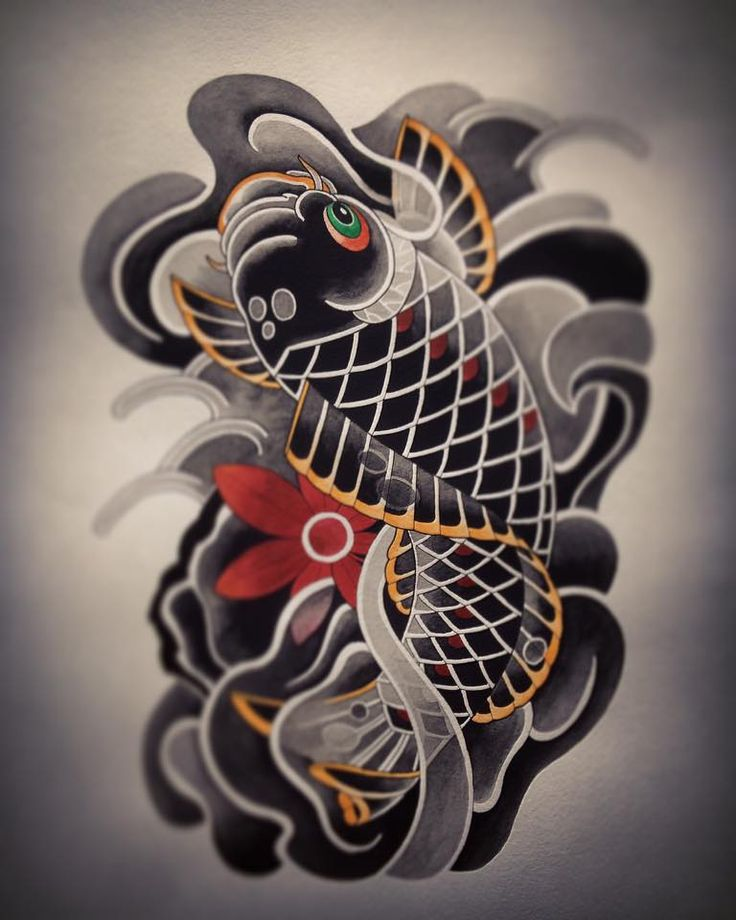 42 best koi images on pinterest fish tattoos japan for Japan koi wild