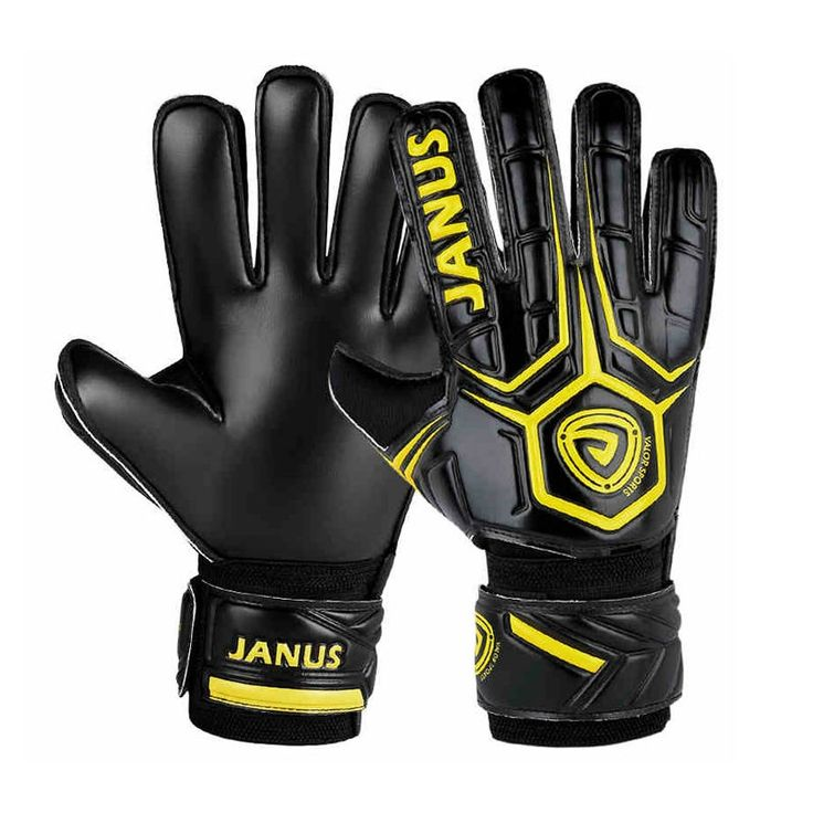 48.32$  Buy here - http://alib7f.worldwells.pw/go.php?t=32704185451 - Football Gloves Men Soccer Goalie Gloves Latex Luvas de Goleiro Arquero Futbol Torwarthandschuhe 48.32$