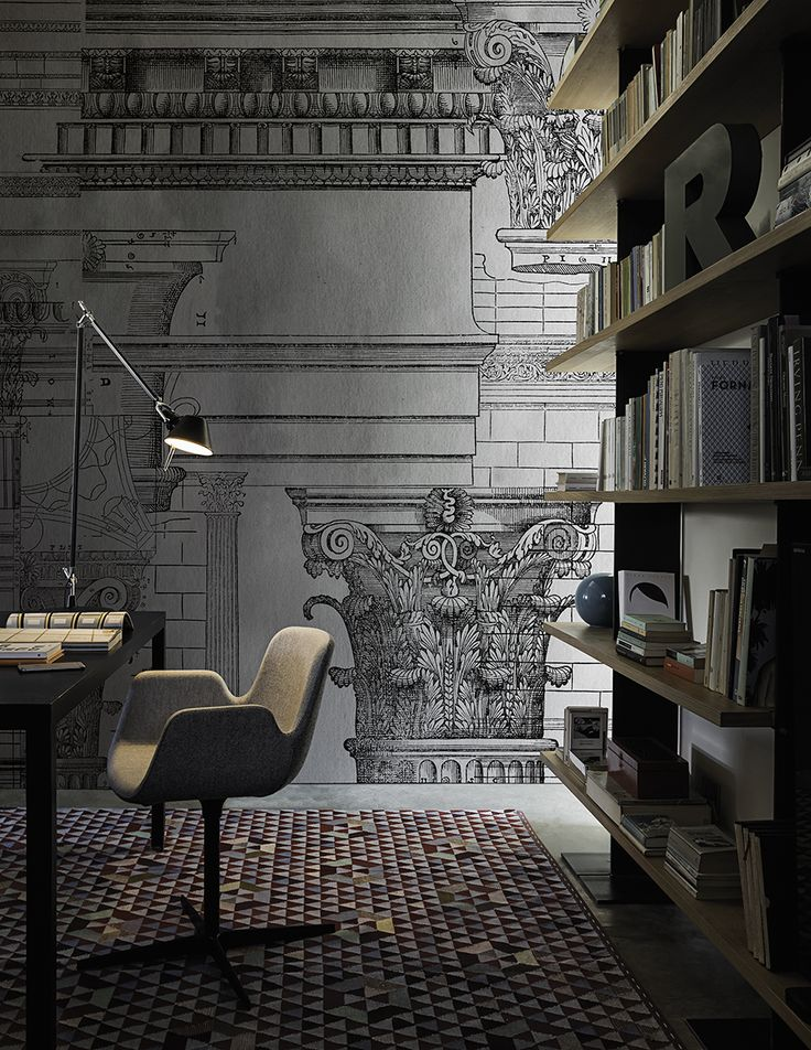 Antiqua www.wallanddeco.com #wallpaper, #wallcovering, #cartedaparati