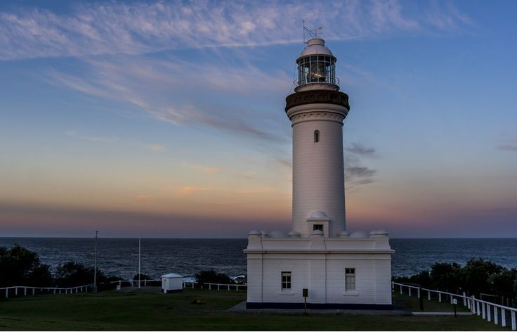 Norah Head Lighthouse:- Located on Central Coast, New South Wales, Norah Head Lighthouse was built in 1903 and is 27 m high. This lighthouse is known as the icon of Australian maritime history.  #NorahHeadLighthouse #newsouthwales #australia #sydneyattractions #travel