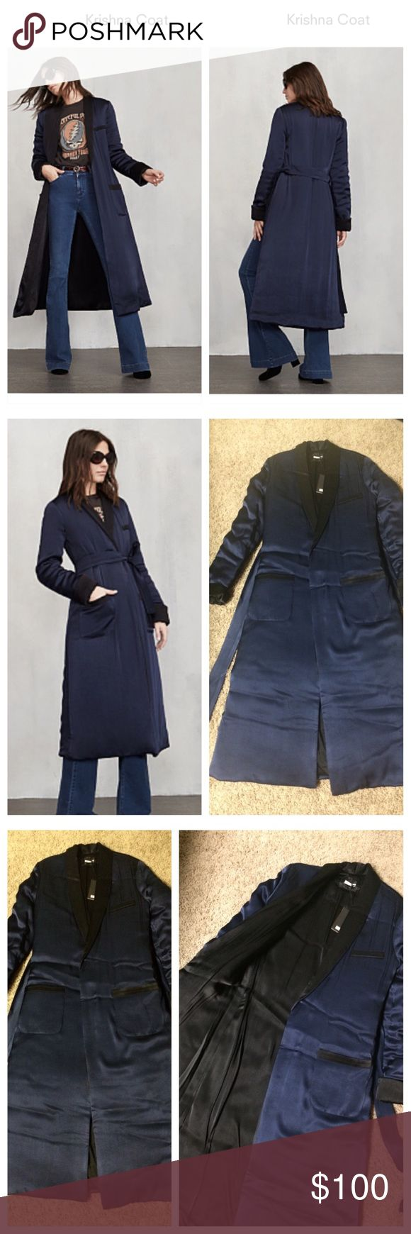 Brand new reformation Krishna coat, size XS Brand new reformation Krishna coat, size XS would fit for S too, (ask me for measures if need) whit the tag.   Store price 278$ SOLD OUT   #reformation #reformationcoat #reformationkrishnacoat #coat #reformationlongcoat #krishnacoat #iso #soldout #sale Reformation Jackets & Coats Pea Coats