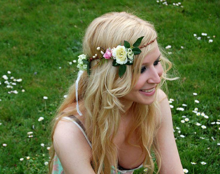 """""""MYREA"""" – Elfenkrone, TOPSELLER, Hochzeit von Miss Cherry Blossom auf DaWanda.co…"""