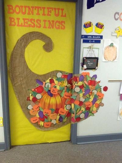 Thanksgiving Door Decoration Ideas Classroom : Classroom door decorating ideas