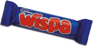 Cadbury's Wispa. Love this British Candy!!!