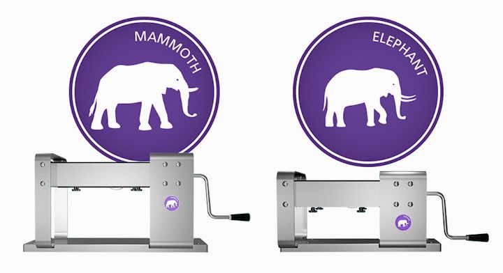 See the difference between Lucy Clay Machine: Mammoth and Elephant.