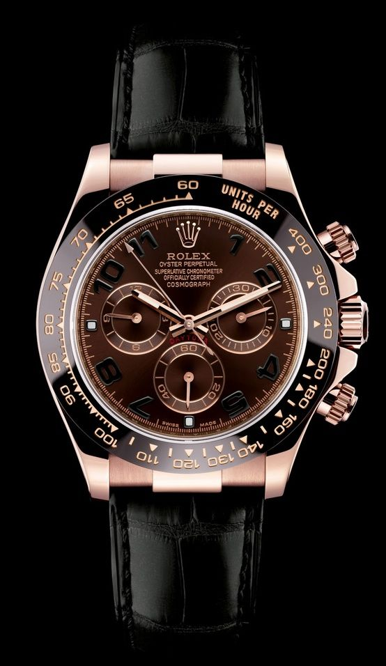 This one is the latest model in the all time Rolex Oyster collection. http://www.moderngentlemanmagazine.com/big-comeback-of-mechanical-wristwatch/