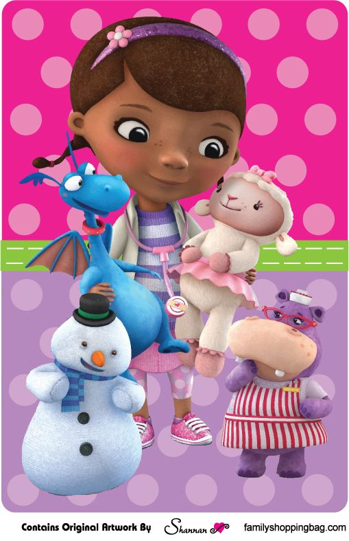Doc McStuffins wall sign
