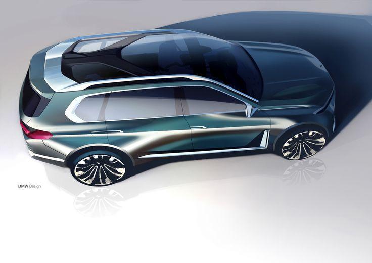 Bmw X7 Concept Automotive Design Inspo Pinterest