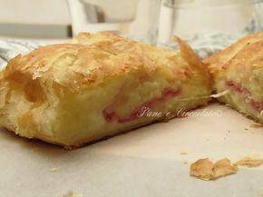 Strudel di Patate, Mozzarella e Mascarpone con pasta sfoglia