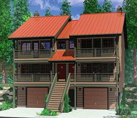 92 best duplex fourplex plans images on pinterest home for Building a fourplex