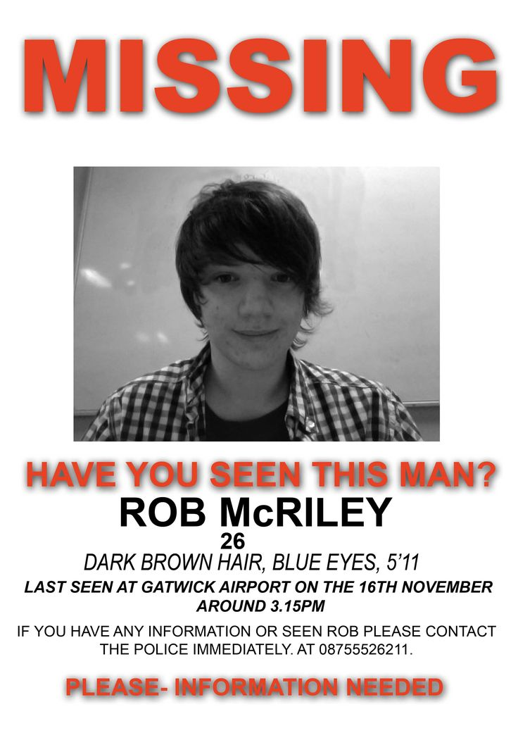 17 Best images about Americas most wanted and missing people on – Missing Child Poster Template