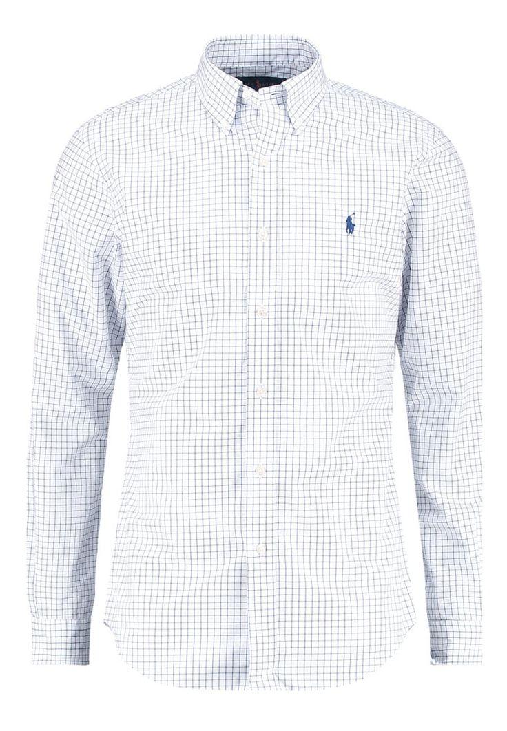 Polo Ralph Lauren SLIM FIT Hemd white/navy Premium bei Zalando.de | Material Oberstoff: 100% Baumwolle | Premium jetzt versandkostenfrei bei Zalando.de bestellen!