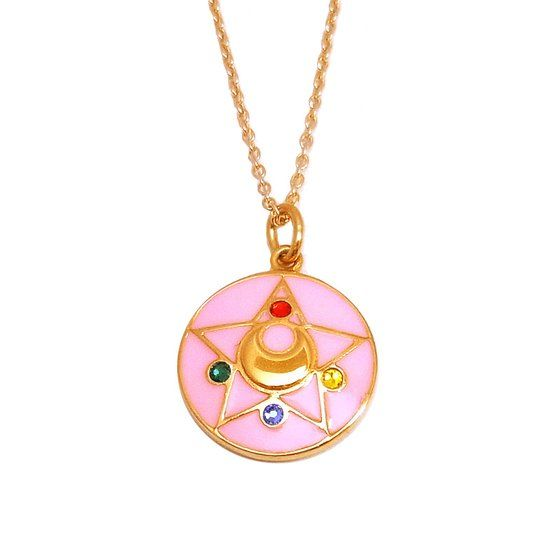 Sailor Moon Heroines' Brooch Inspires Necklaces - Anime News Network