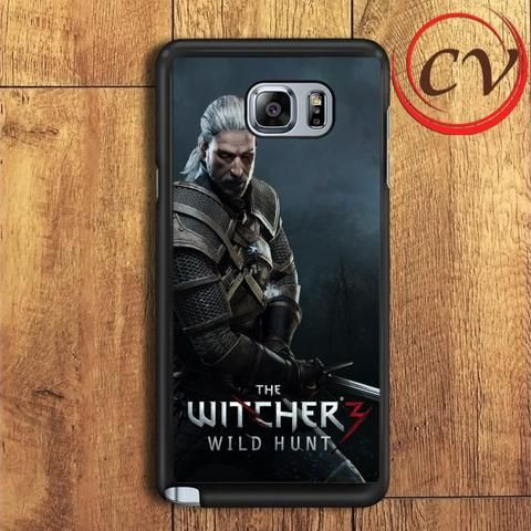 The Witcher 3 Wild Hunt Geralt Samsung Galaxy Note 5 Case