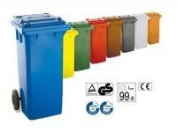 Contenedores de basura de 120, 240, 360, 800 y 1100 litros
