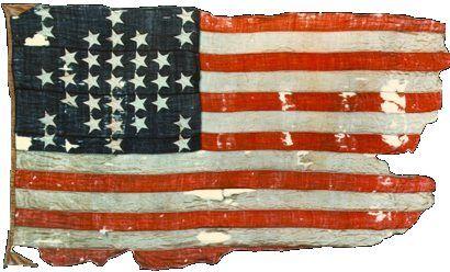 Fort Sumpter Civil War Flag.
