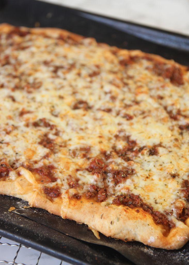 Tacopizza som inte behöver jäsa – Lindas Bakskola