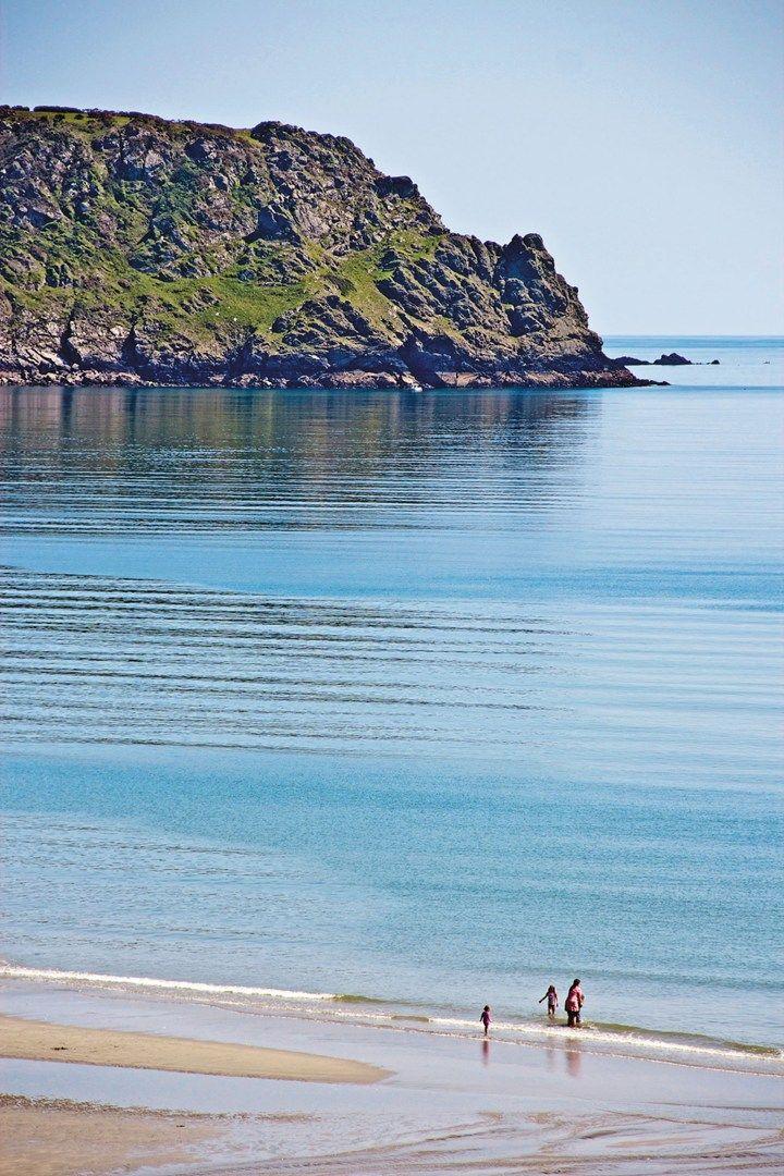 Porthcurnick Beach, St Mawes, Cornwall. Photo: Matthew Buck