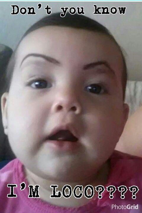 #gangsta baby #eyebrows #chola #sharpiebrows #sharpie