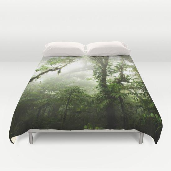 #rainforest #jungle #nature #forest #costarica #duvet #duvetcover #bedroom #homedecor