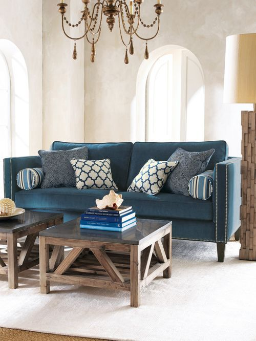 Walls Rustic And Spaces Vintage Living Room Fireplace Blue R Cool Ideas Teal Sofa