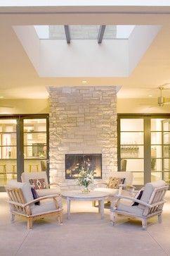 Best 25+ Indoor outdoor fireplaces ideas on Pinterest | Modern ...