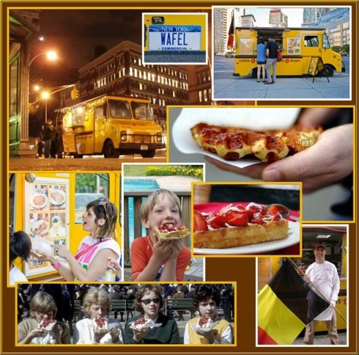 Food Truck Nation in NYC! Featuring Kimchi Taco, Luke's Lobster Truck, Wafels and Dinges & Treats Truck