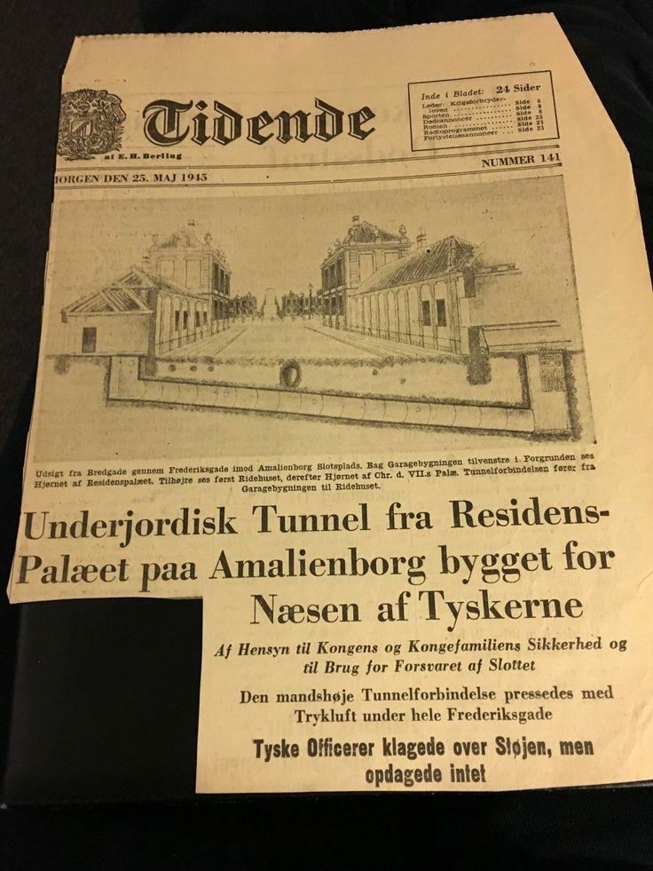 Tunnel under Amalienborg