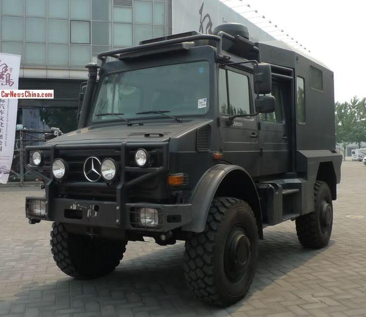 #Mercedes #Unimog U5000 Turned Into a #Camper in #China http://www.benzinsider.com/2014/07/mercedes-unimog-u5000-turned-into-a-camper-in-china/