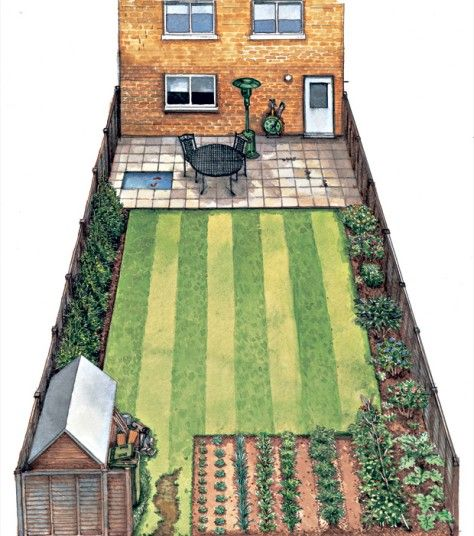 In an extract from his new book, How to Create an Eco Garden, John Walker explains how to turn an unassuming urban plot into an eco-friendly haven. - before picture
